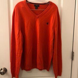 Brooks Brothers v-neck men's sweater size xl
